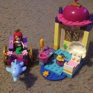Ariel's Dolphin Carriage Playset